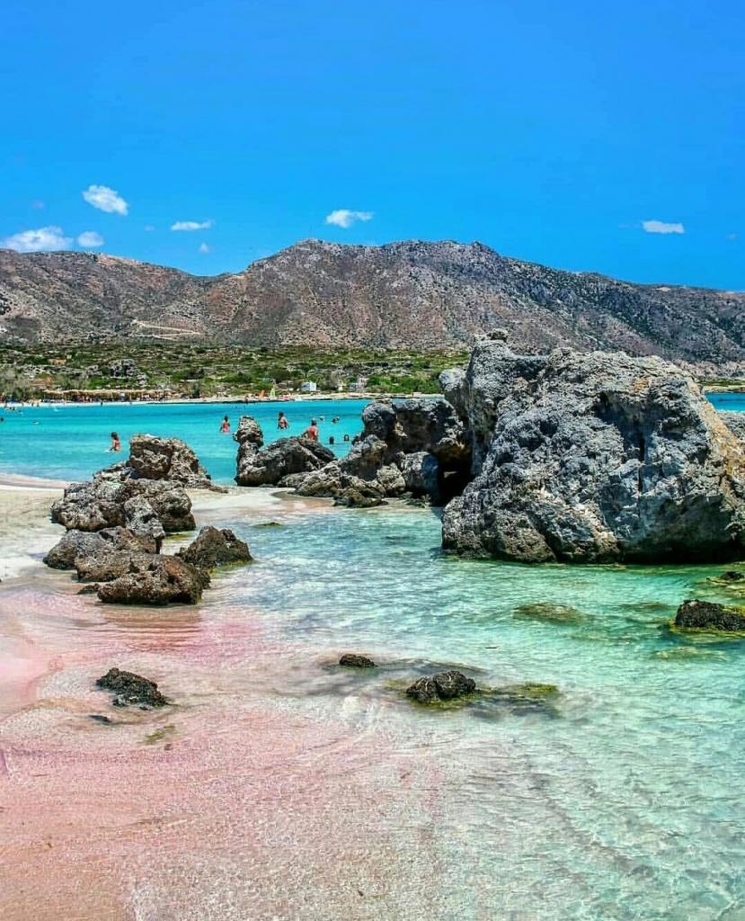 элафониси пляж фото